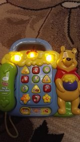 """Vtech phone station """"Pooh"""", incl.baterry in Ramstein, Germany"""