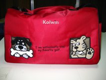 Kaolin Golf Shirt, Golf Bag Cover and Sports Bag in Okinawa, Japan