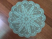 Handmade doily in Camp Humphreys, South Korea