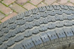 Tires from 2008 GMC Acadia in Ramstein, Germany