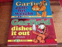 Garfield 26th & 27th Edition Books in Ramstein, Germany