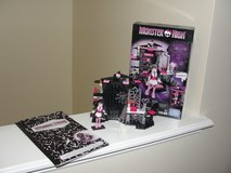 "MEGA BLOKS MONSTER HIGH ""VAMPTASTIC ROOM"" OPENED in Camp Lejeune, North Carolina"