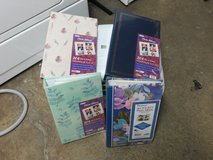 Eight 204 Pocket Photo Albums -- holds 4X6 pictures in Lockport, Illinois