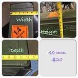 AMMO CANS  CALL NOW !!! 3375378723 in DeRidder, Louisiana