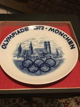 1972 Olympic plate in Warner Robins, Georgia