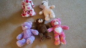 Build a bear stuffed animals ($5.00 each) in Bartlett, Illinois