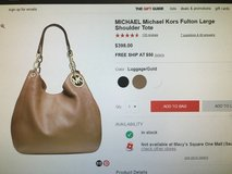 Michael Kors large tote in Brockton, Massachusetts