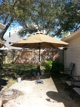 Outdoor Umbrella and stand in Katy, Texas