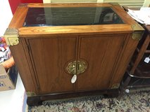 Asian inspired cabinet w marble top in Dothan, Alabama