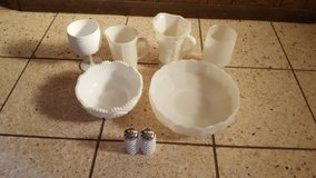 White hob knob assorted lot dishes in Altus, Oklahoma