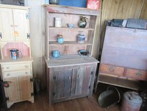 barnwood hutch in Fort Campbell, Kentucky