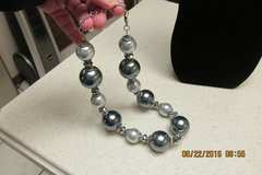Super Trendy & Stylish GIANT Pearl Necklace - New Condition in Houston, Texas