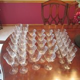 Crystal Stemware  REDUCED in Naperville, Illinois