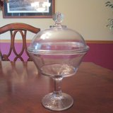 Large Candy Dish w/lid REDUCED in Lockport, Illinois