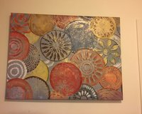 Large canvas picture 39.5in x 29.5in in Fort Drum, New York