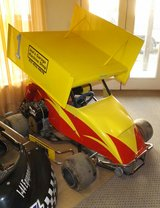 Winged Racing Kart in Ottumwa, Iowa