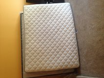 Queen mattress and boxspring fairly new in Minneapolis, Minnesota