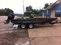 Champion Bass Boat in Conroe, Texas