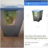 Pet food container 50lbs in Fort Leonard Wood, Missouri