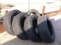 5 Tires in 29 Palms, California