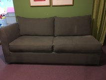 Sage Green Queen Size Sleeper Sofa with Sealy Mattress in Naperville, Illinois