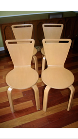 Thonet Series C Molded Plywood Chairs, set of 4 in Bolingbrook, Illinois