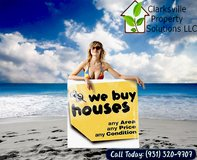 Our Inventory is TOO LOW -- We Want to Buy Your House! in Fort Campbell, Kentucky