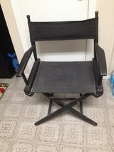 Vintage Black Telescope Folding Chair in Kingwood, Texas