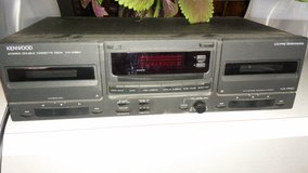 Kenwood double  cassette  deck in Alamogordo, New Mexico