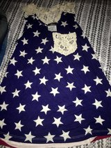 Brand New Rue21 July4th star tank lacy pocket in Lackland AFB, Texas