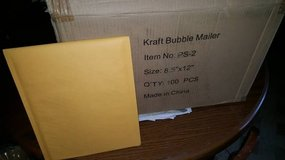 Padded envelopes / bubble mailers 75ct in Alamogordo, New Mexico