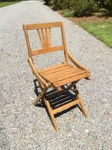 Children's Solid Wood Folding Chair in Beaufort, South Carolina
