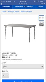 Dinning table/desk in Los Angeles, California