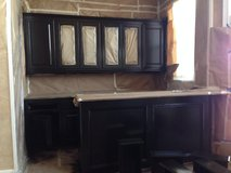 Painting Cabinets in Sugar Land, Texas