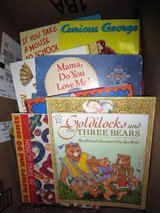 Lot of 30+ children's books plus card games, misc small toys in Jacksonville, Florida