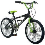 SCHWINN 20 inch BMX throttle GREEN bike for boys or girls in Naperville, Illinois