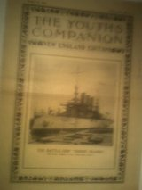 The Youth's Companion, March 15, 1906 Magazine Front Cover Battleship Rhode Island in Fort Campbell, Kentucky
