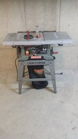 """CRAFTSMAN 10"""" TABLE SAW in Plainfield, Illinois"""