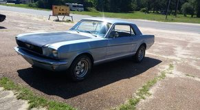 1966 Ford Mustang coupe in Fort Polk, Louisiana