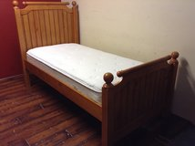 Twin Size Bed (Solid Wood) in Tomball, Texas