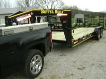 Trailers Flatbed Gooseneck, 14K, 6'10''X24' in Fort Campbell, Kentucky