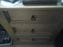 Wooden Coffee Table & 3 draw cabinet same style in Lakenheath, UK