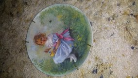 Little Miss Muffet Limited Edition Numbered Plate and wall hanger in Warner Robins, Georgia