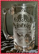 Personalized Chicago Bulls Beer Mug (2) in Algonquin, Illinois