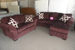 Prism elderberry chaise couch and love seat in Elizabethtown, Kentucky