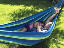 Brand new 2 person hammock 450lbs support weight in Shorewood, Illinois