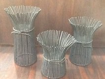 3 PC Decorative Rod Iron Candle Holder Set in The Woodlands, Texas