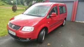 VW Caddy Maxi 2,0 TDI 140 PS Up to 7Passenger,Passed Inspection 18.06.2016 in Hohenfels, Germany