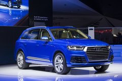 AUDI MILITARY SALES ANSBACH PRESENTS THE ALL-NEW 2017 AUDI Q7. in Hohenfels, Germany