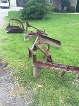 3 implements - blade, cultivator, and scoop in Houston, Texas